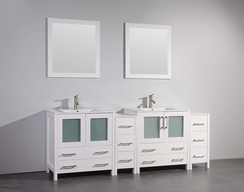 48 Inch Double Sink Bathroom Vanity Ideas Bowl