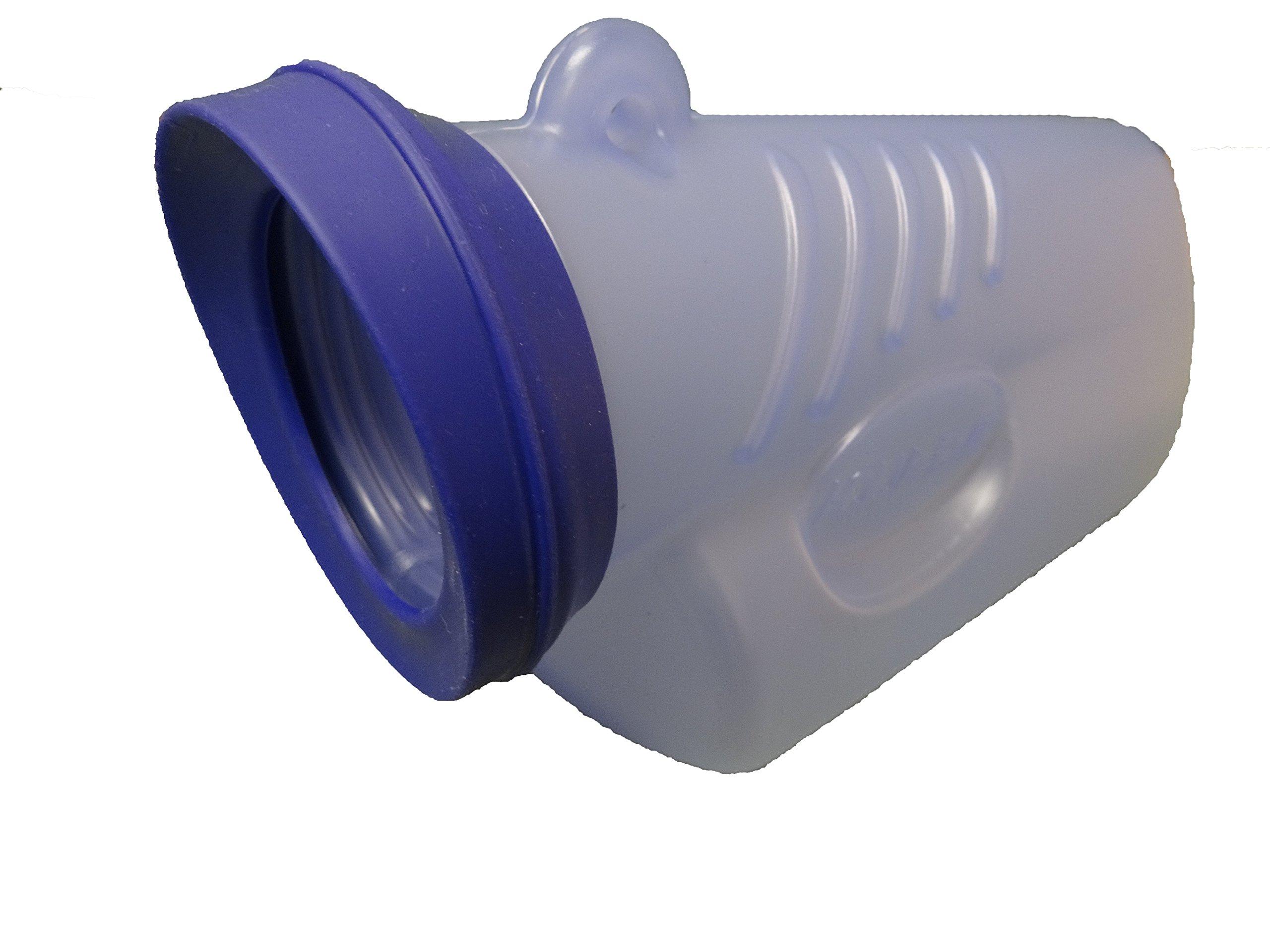 AquaEveGo, the soft touch urinal