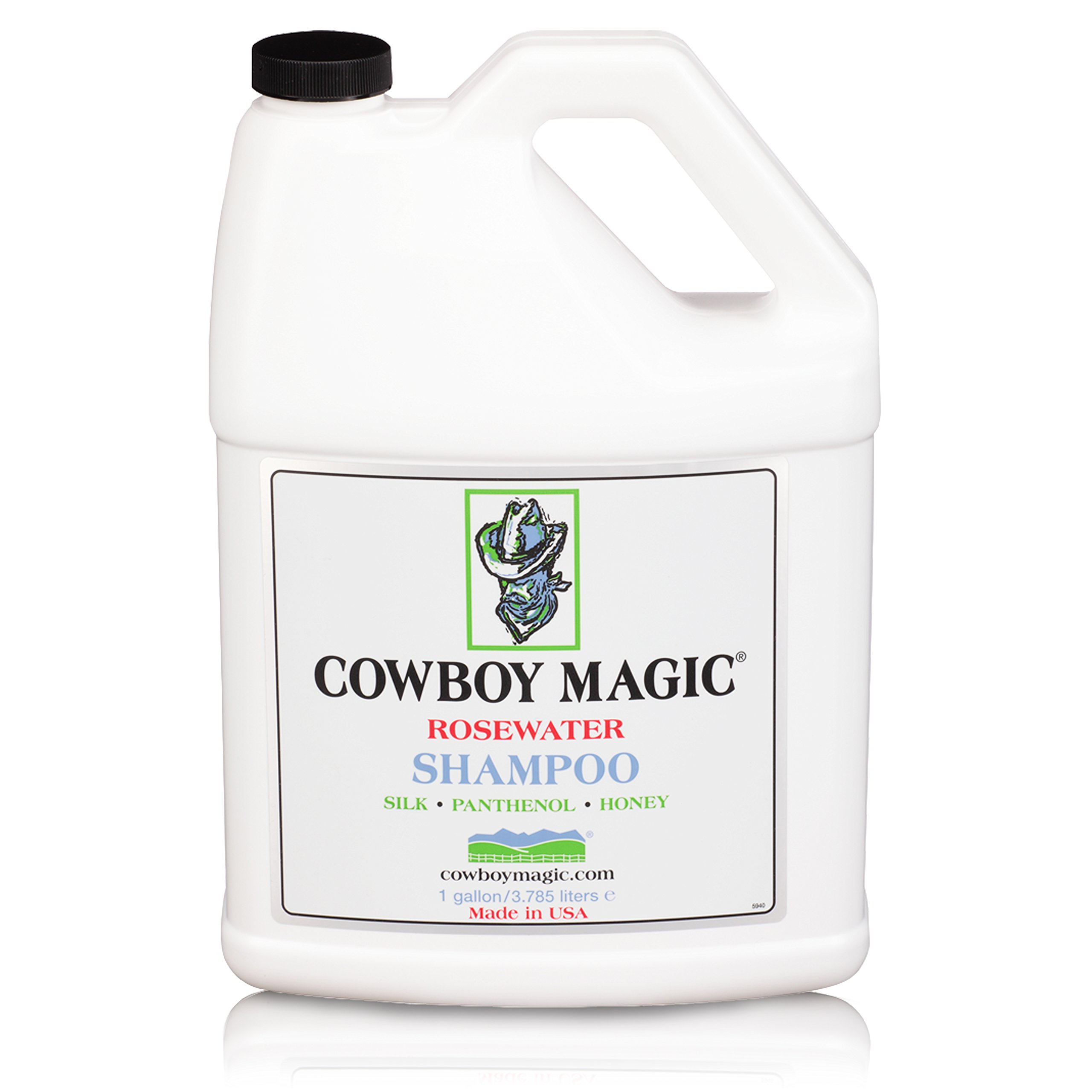 Cowboy Magic Rosewater Shampoo Refill 1 Gallon