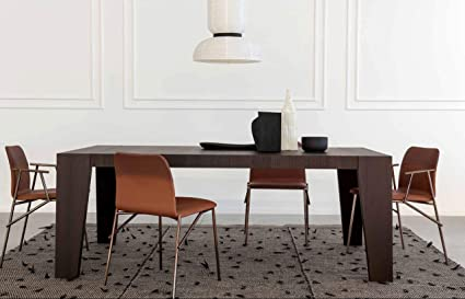 Amazon.com - Pianca Cartagena: Modern Dining Room Table (L ...