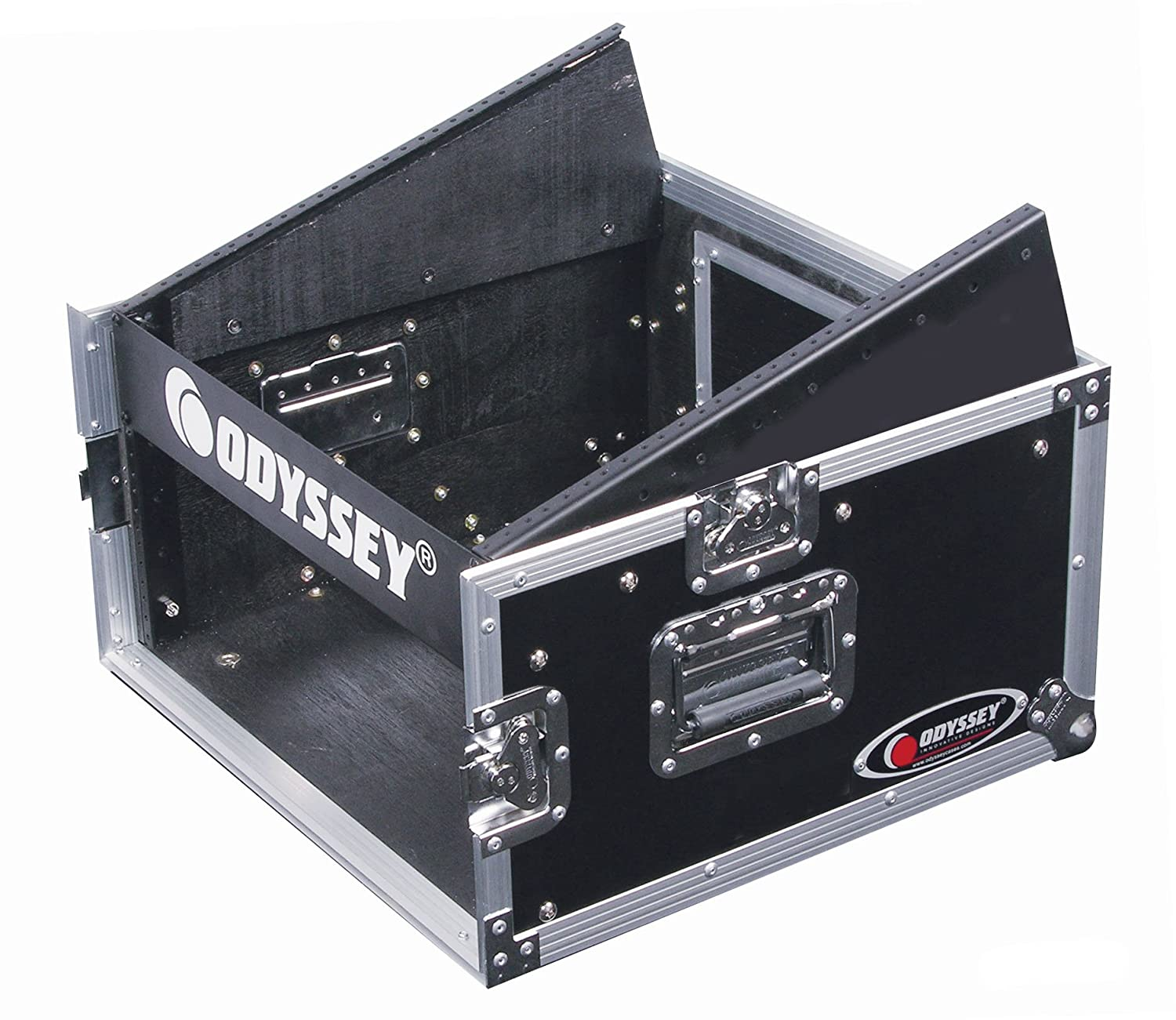 Odyssey FZ1004 Flight Zone Ata Combo Rack: 10u Slant, 4u Vertical Odyssey Innovative Designs
