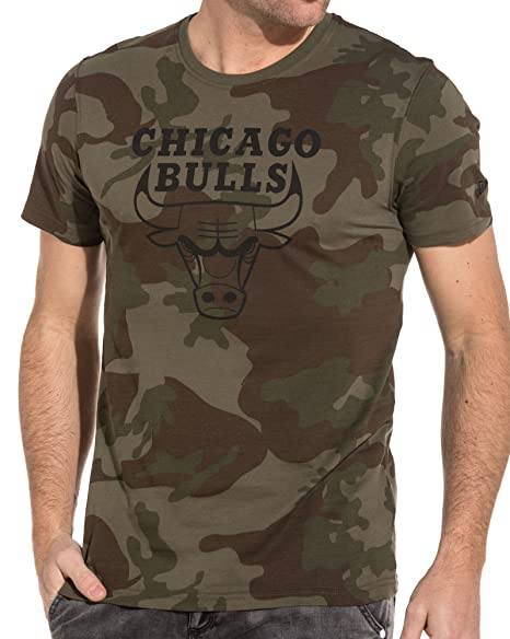 Camiseta New Era - NBA Chicago Bulls Bng Graphic Verde/Negro/Multi Talla: XS (X-Small): Amazon.es: Ropa y accesorios