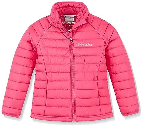 Columbia Powder Lite Girls Jacket Chaqueta, niña, Cactus Pink, Talla XXS