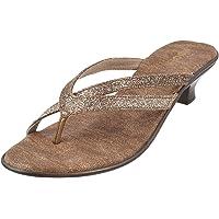 Mochi Women Black Synthetic Sandals (32-25)