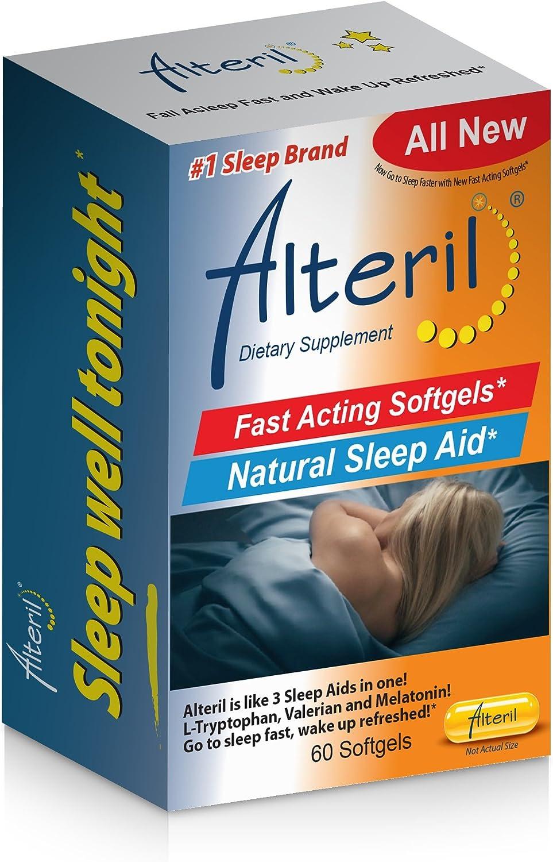 Alteril Natural Sleep Aid Soft Gel 60ct