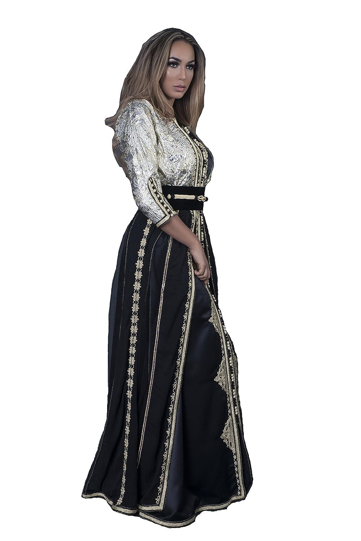ca0006480c0 Caftan TAKCHITA Byzantin Robe Orientale Marocaine pour soirée de Mariage