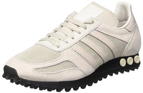 adidas La Trainer Og, Scarpe da Ginnastica Basse Uomo, Beige Pearl Grey/Core