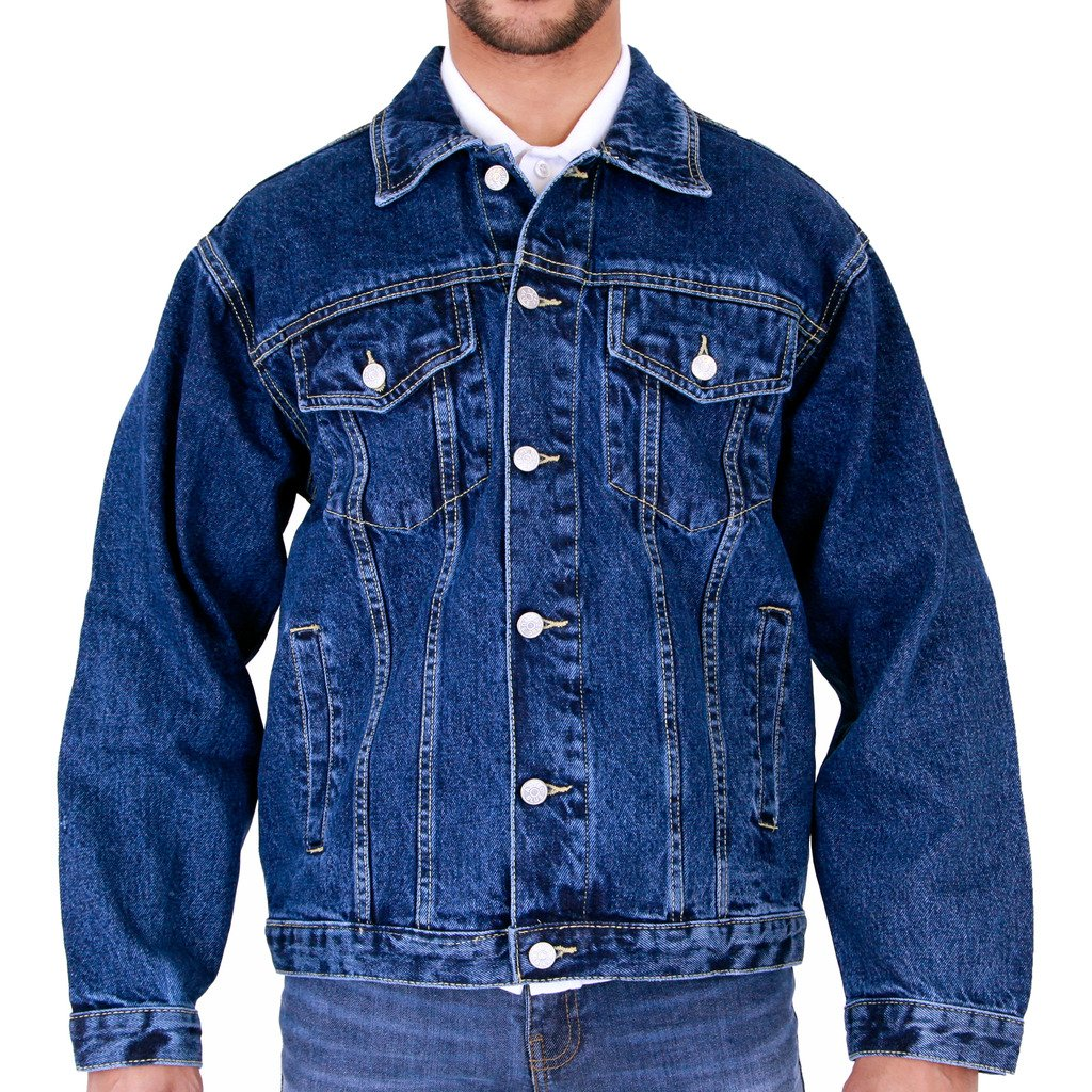 AZTEC JEANS Mens Aztec Casual Denim Jackets AztecDenimJackets