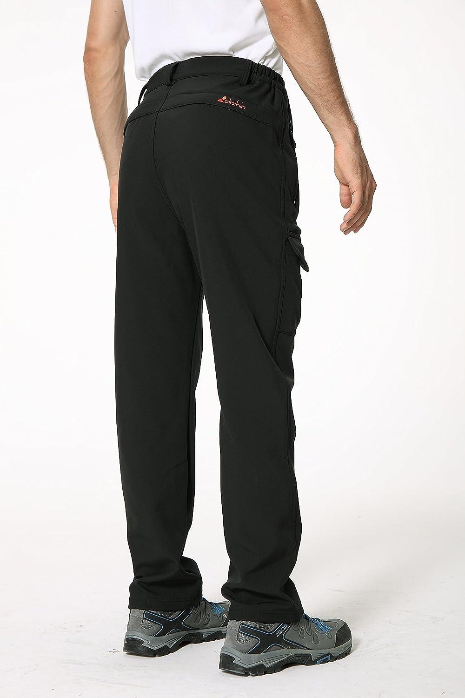 Clothin Pantalones de Nieve para Hombre con Forro Polar Grueso y Resistente al Viento, Pantalones de esquí: Amazon.es: Deportes y aire libre