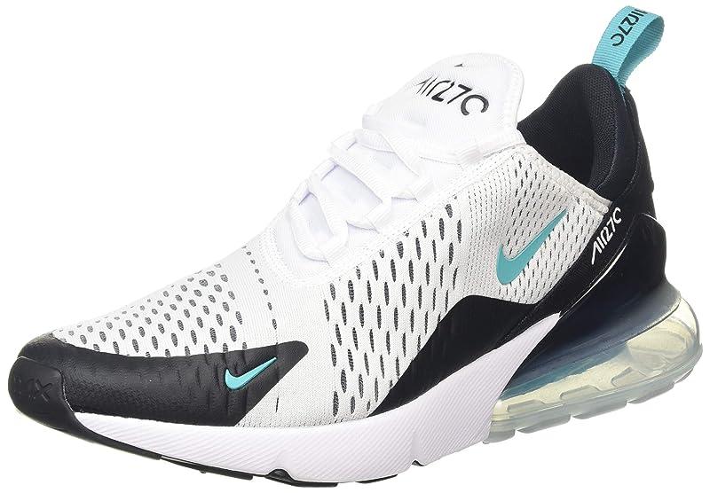 Nike Air Max 270 Sneakers Herren Schwarz/Weiß/Mint