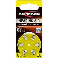 Ansmann 5013223 - Pila para audífono 10 zinc