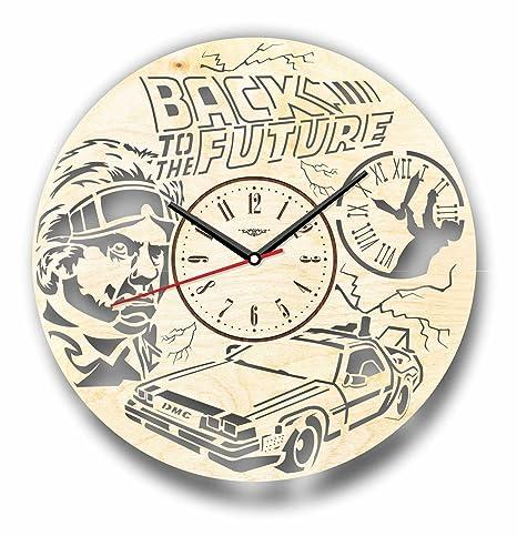 7ArtsStudio - Reloj de pared para mujer (corte perfecto y elegante), diseño con