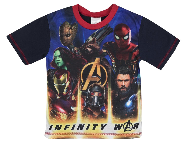 Marvel Avengers Boys Short Pyjamas Pjs
