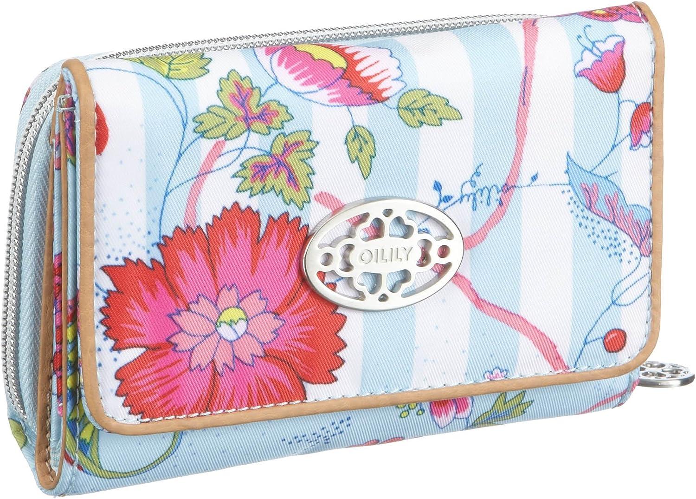 14 x 2.5 x 10 cm Oilily S Wallet OCB1125-6000 Portemonnaies Damen T/ürkis B x H x T T/ürkis // White