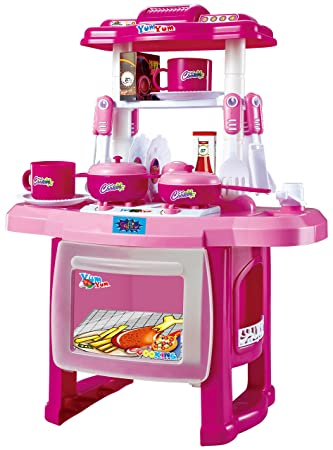0ad123ce625e Buy Webby Kids Kitchen Cooking Set with Music and Lights