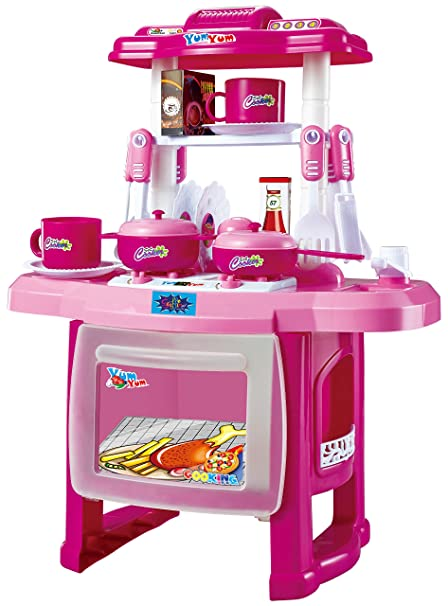 34bd7b6a26c Buy Webby Kids Kitchen Cooking Set with Music and Lights