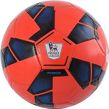 Nike Pitch - Balón de fútbol, Color - Red - Black - Blue, tamaño 5 ...