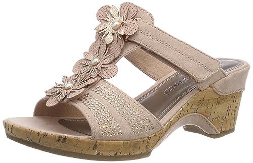 MARCO TOZZI Damen 27213 T-Spangen Sandalen  Amazon.de  Schuhe ... d2a78e5899