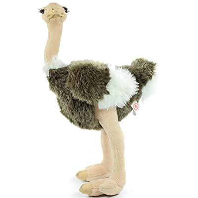 VIAHART Ola The Ostrich | 11 Inch Realistic Looking Stuffed Animal Plush | by Tiger Tale Toys: Toys & Games