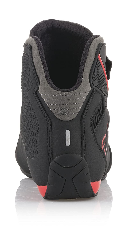 Alpinestars Mens 25155181319 Shoe Black//Grey//Red, Size 9