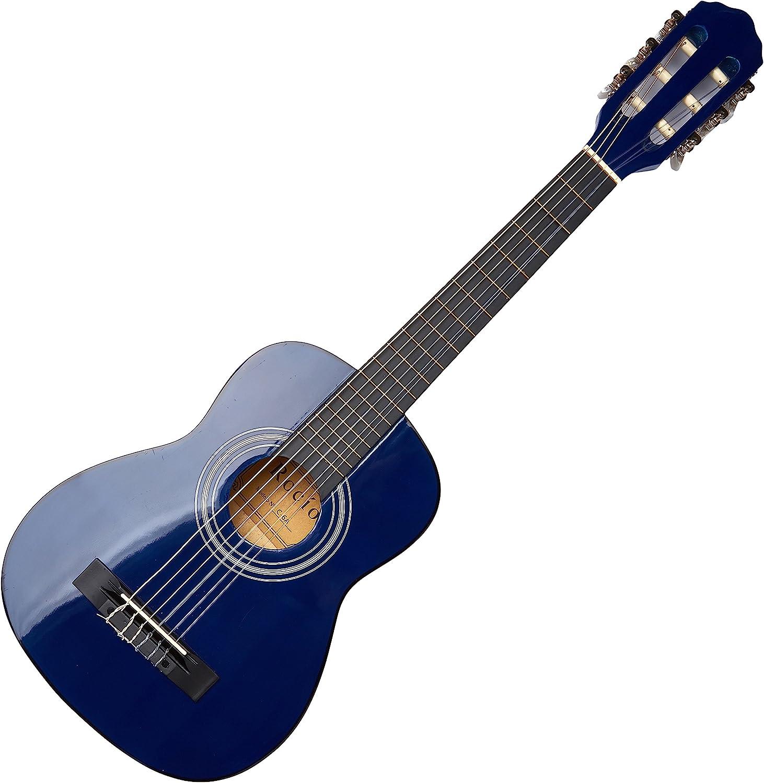 Guitarra rocio c6n (1/4) cadete 75 cms azul