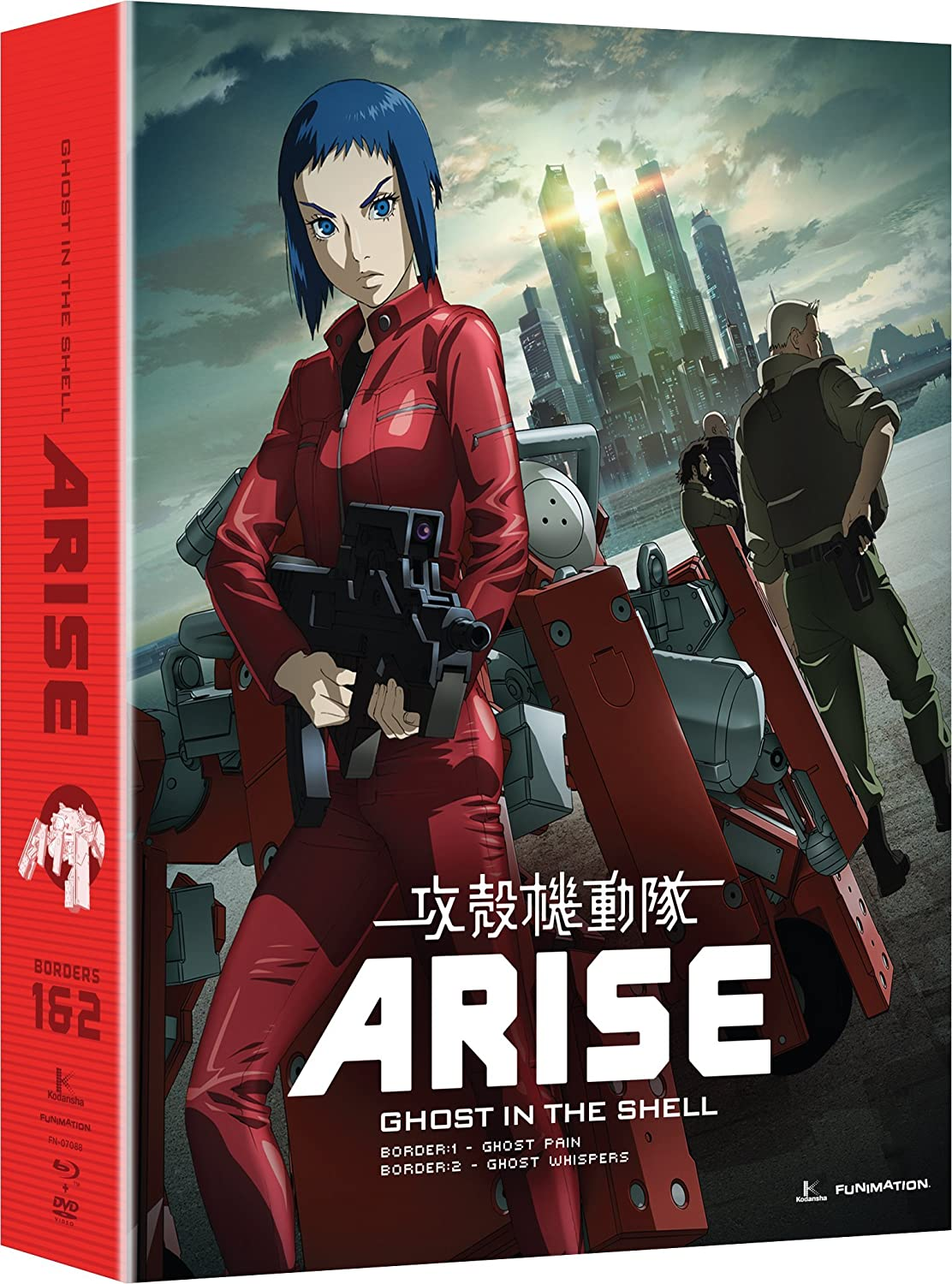 Amazon Com Ghost In The Shell Arise Borders 1 2 Blu Ray Dvd Combo Christopher R Sabat John Swasey Elizabeth Maxwell Zach Bolton Movies Tv