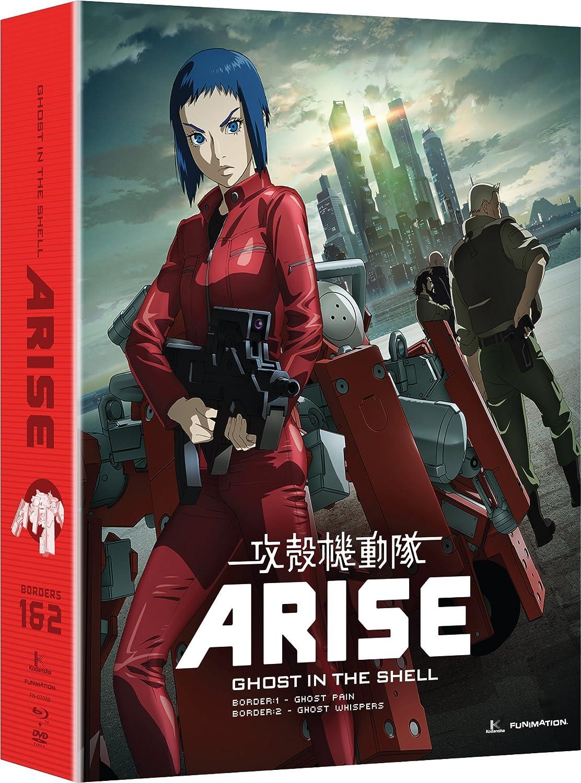 Ghost In The Shell: Arise - Borders 1 & 2 4 Blu-Ray Edizione: Stati Uniti USA Blu-ray: Amazon.es: Cine y Series TV