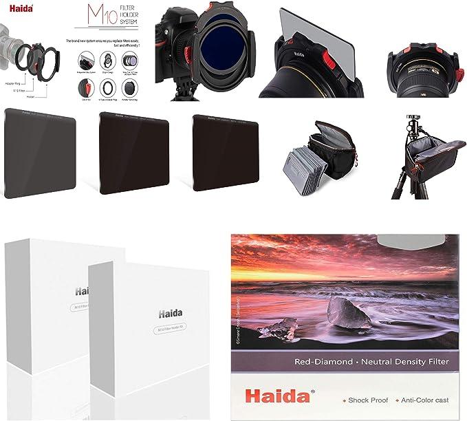 Haida M10 Starter Kit Red Diamond Nd 8x 64x 1000x Camera Photo