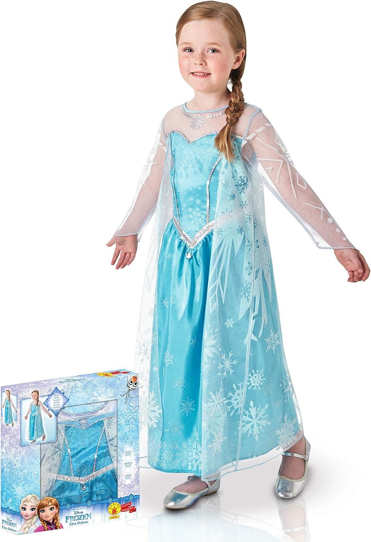 Generique - Disfraz Elsa Frozen Caja niña: Amazon.es: Juguetes y ...