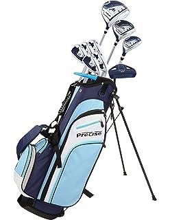 Amazon.com : Confidence LADY POWER III Golf Club Set & Stand ...