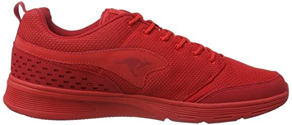 KangaROOSCurrent - Zapatillas Unisex Adulto, Rojo - Rot (Flame Red 670), 41