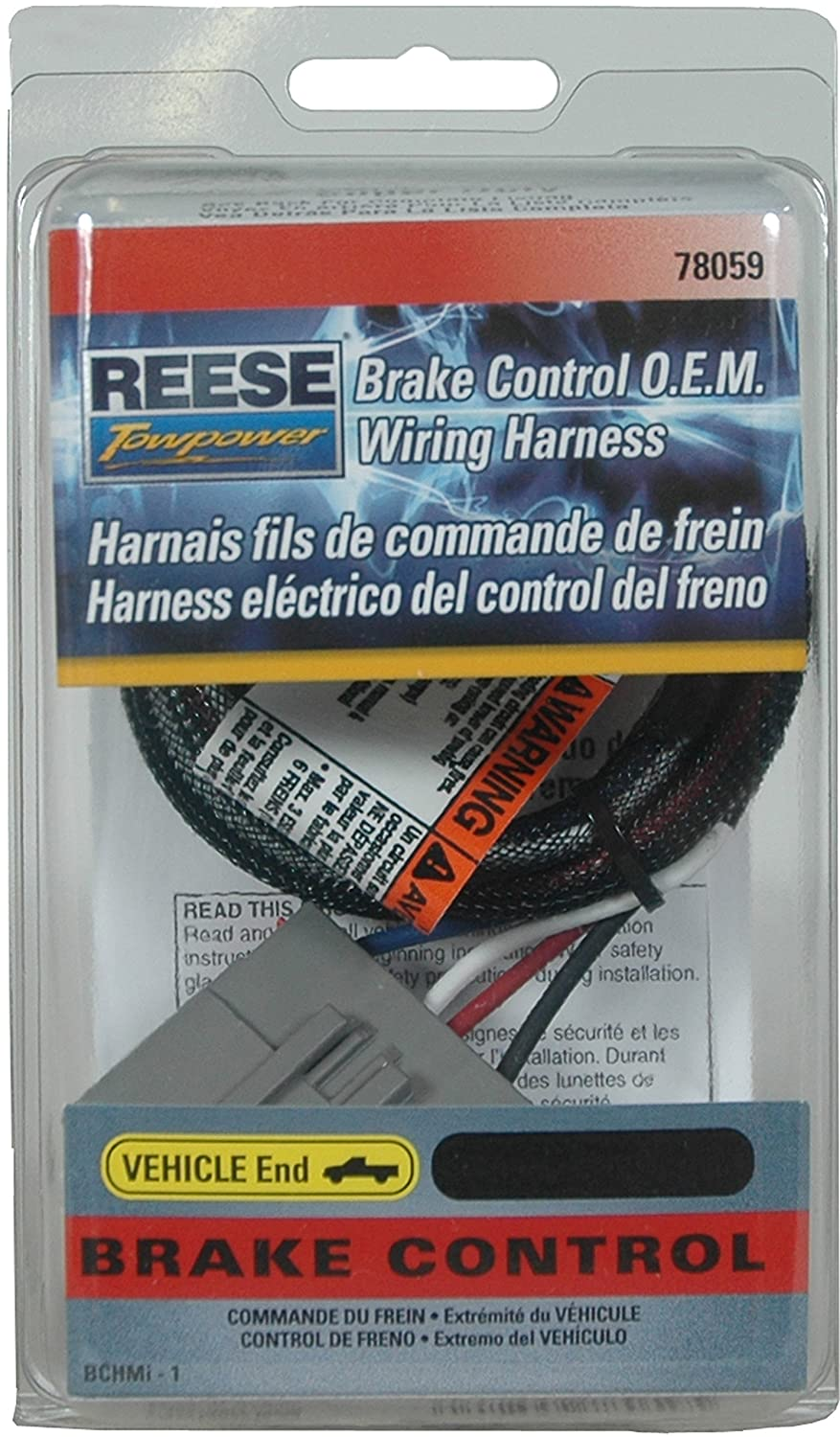 Reese Towpower 78059 Brake Control Wiring Harness for Ford Super Duty