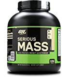 Optimum Nutrition Serious Mass Weight Gain Powder, 2.73 kg, Vanilla