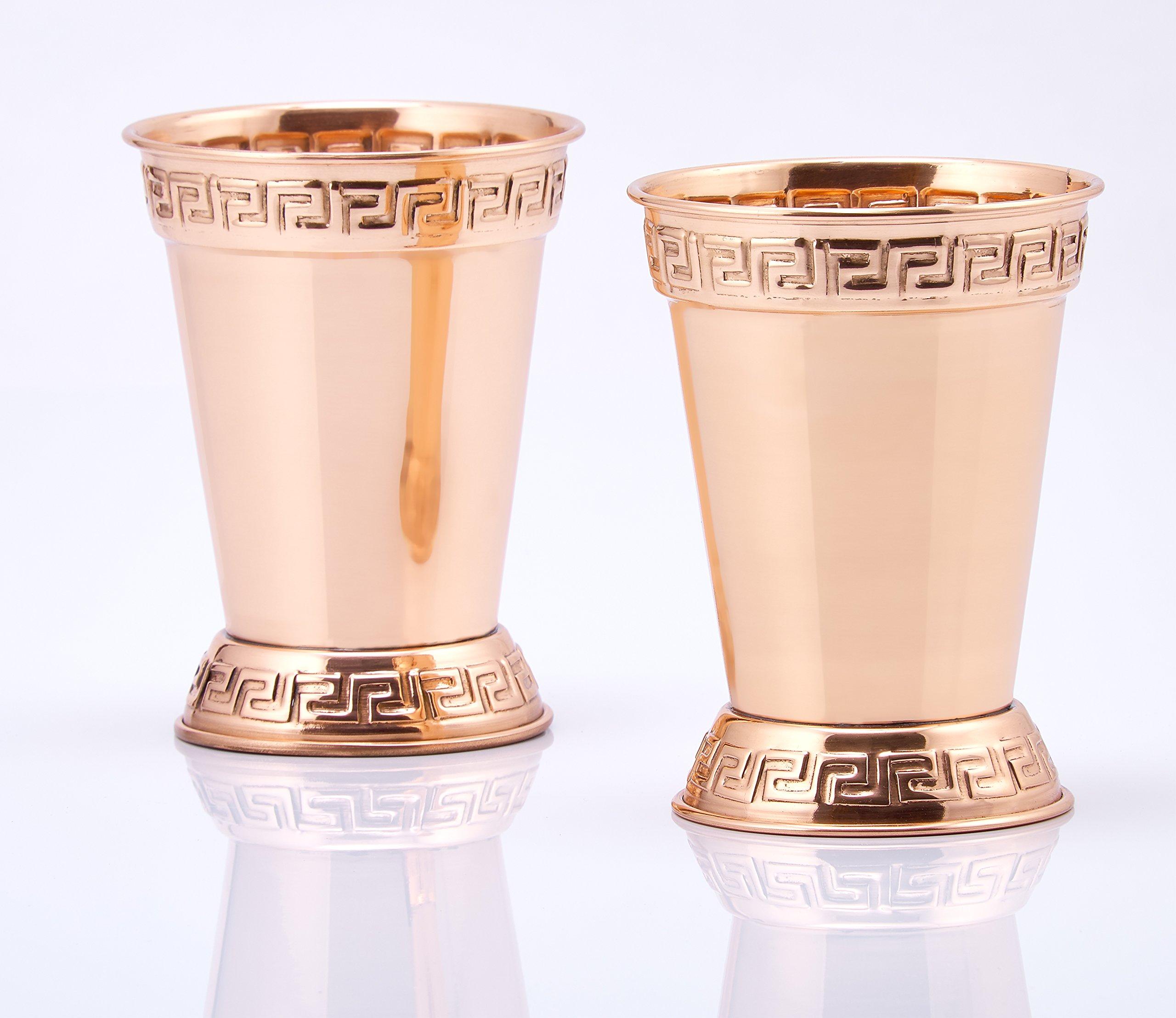 Old Dutch Mint Julep Cups (Set of 2), 12 oz, Copper by Old Dutch