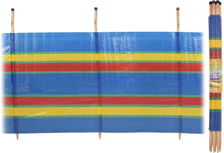 Camping Outdoor Printed Windbreak for Beach KandyToys Nalu 8 Pole Windbreaker Garden