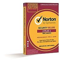 Norton Security Deluxe Sonderedition 2018   2+1 Geräte   PC/Mac/Smartphone/Tablet   Download