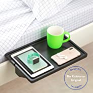 BedShelfie Minimalist The Original Bedside Shelf - 9 Colors / 3 Sizes - AS SEEN ON Business Insider (Minimalist Style, Bamboo in Black)