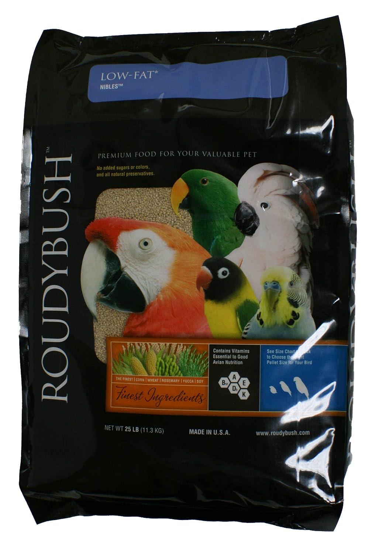 Roudybush Low Fat, Nibbles Bird Food, 25-Pound
