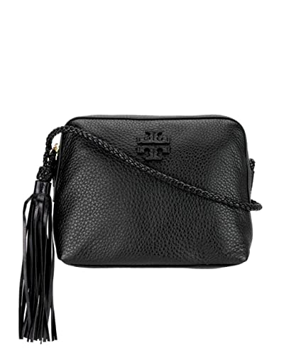 22ec37d4bd5b Tory Burch Women s Leather Taylor Camera Crossbody Bags Handbag 52715  (Black)  Handbags  Amazon.com