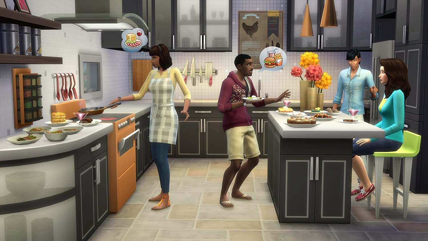 Amazoncom The Sims 4 Cool Kitchen Stuff Online Game Code Video
