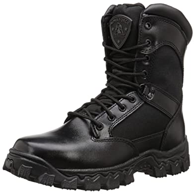 ee280d724fd9 Image Unavailable. Image not available for. Color  Rocky AlphaForce Zipper Waterproof  Duty Boot