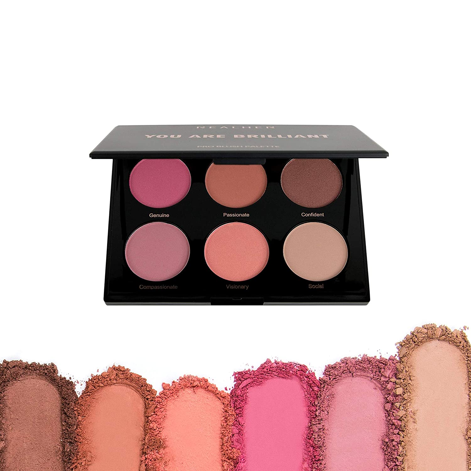REALHER PRO Blush Palette - You Are Brilliant