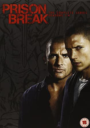 0bcf20e7af1fd Prison Break - Season 1-4 [DVD]: Amazon.co.uk: Wentworth Miller ...