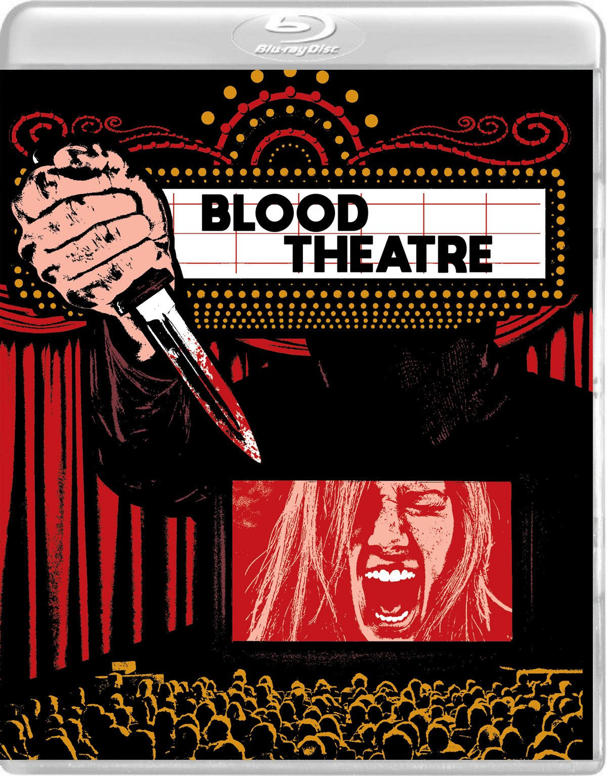Blu-ray : Blood Theatre / The Visitants (With DVD, 2 Pack, Widescreen, 2PC)