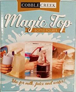 Cobblecreek Magic Top Bottle Pourer White