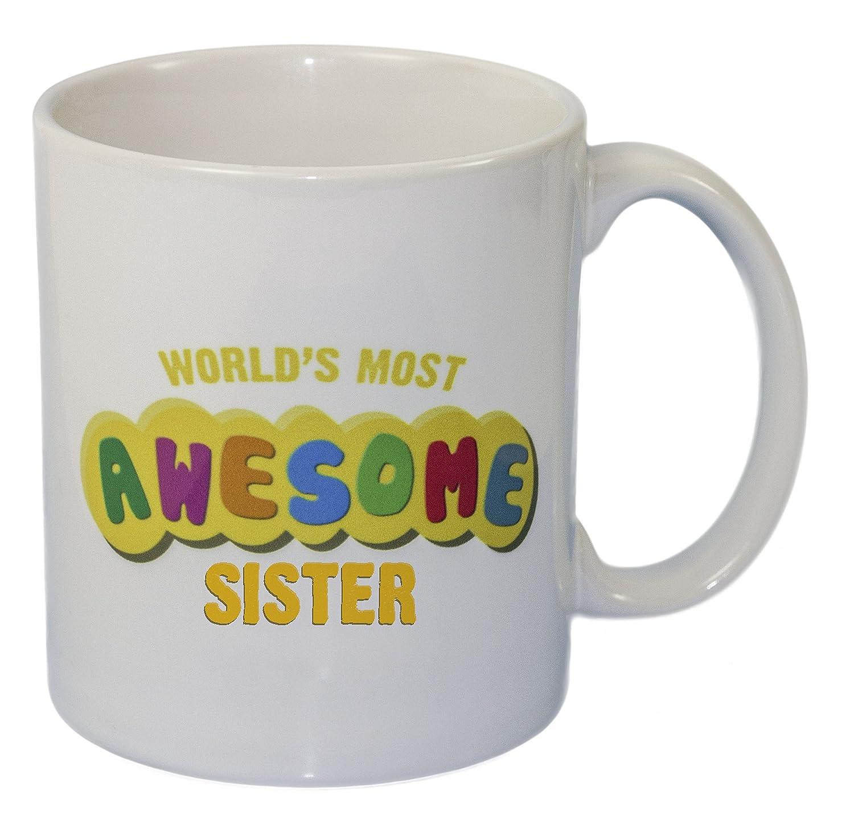 Rikki Knight世界で最も素晴らしいSister – 面白い引用デザイン11オンスセラミックコーヒーマグカップ B01LX05PTW