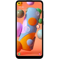 Tracfone Samsung Galaxy A11 4G LTE Prepaid Smartphone (Locked) - Black - 32GB - Sim Card Included - CDMA (Free $20…