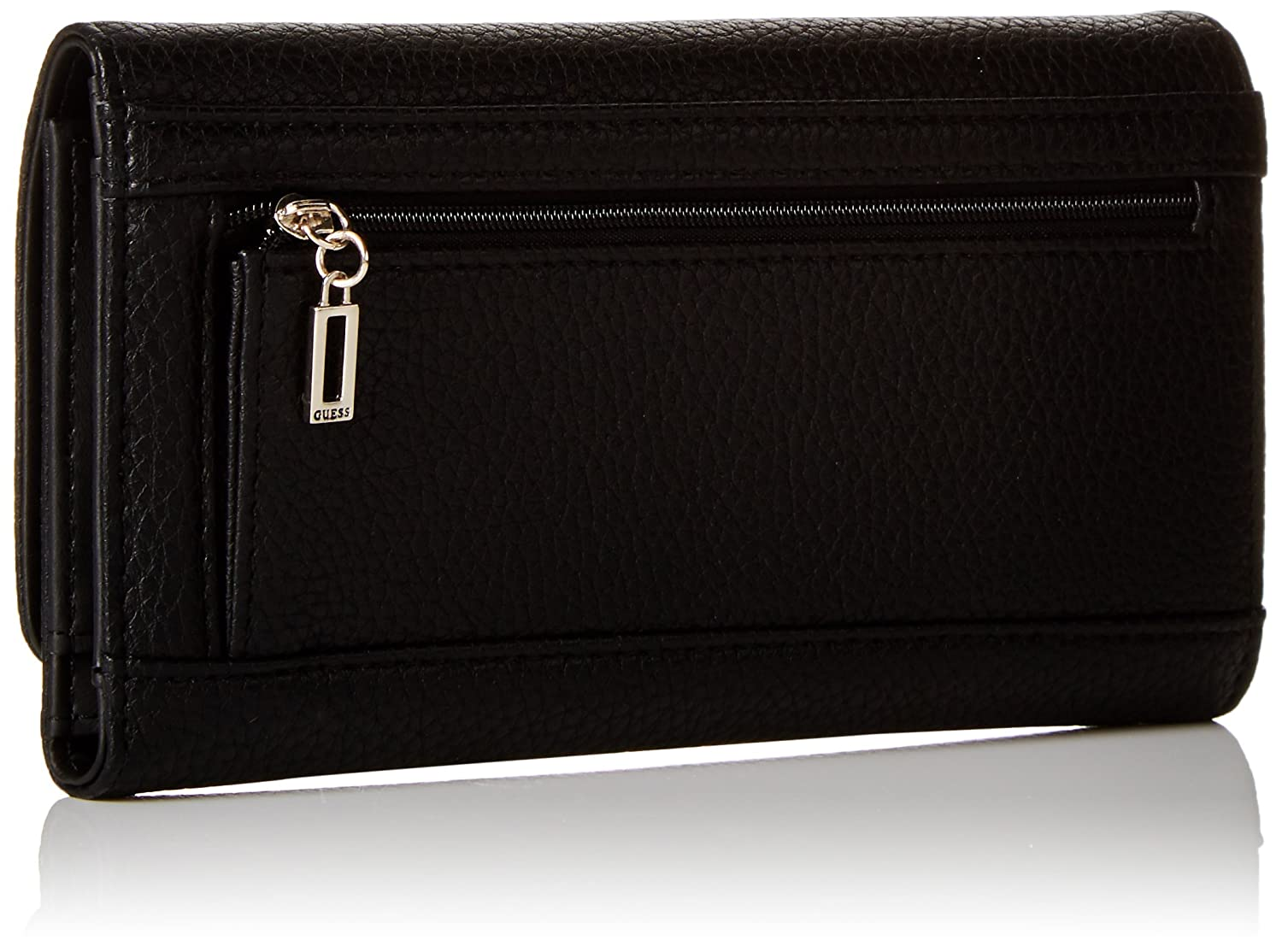 Guess Mujer SWVG6538660 Monedero Negro Size: 1x11x19 cm (W x ...