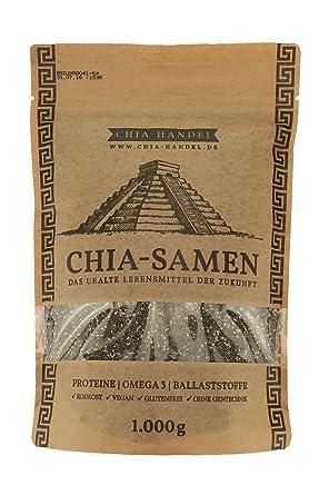 Semillas de Chia 2 x 1kg: Amazon.es: Alimentación y bebidas
