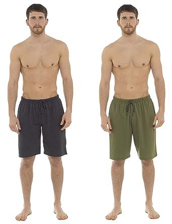 CityComfort Lot de Deux Shorts pour Homme